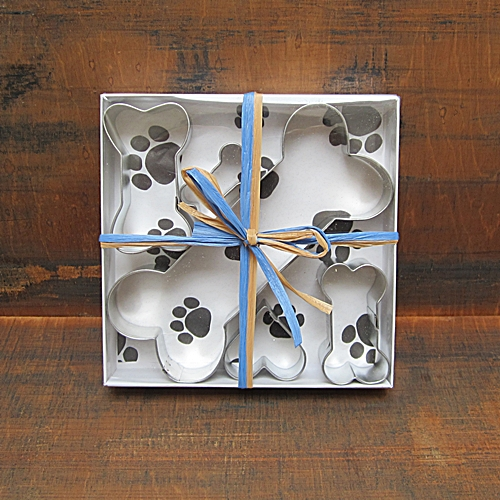 Five Piece Dog Treat Cookie Cutter Set