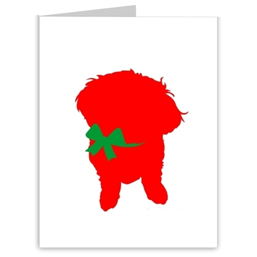 Bichon Frise Season\'s Greetings Note Cards