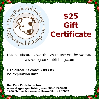 $25, $50, or $100 E-Gift Certificate