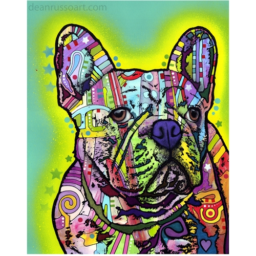 "Lying Great Dane Print 8/""x10/"" or 11/""x14/"" by Dean Russo DISCONTINUED-Ships Free"