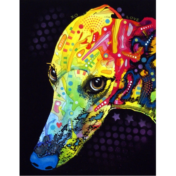 Greyhound Print by Dean Russo - Discontinued