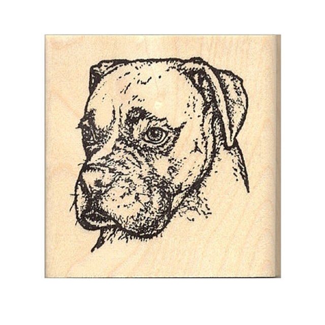 Riggley Detailed Rubber Stamp