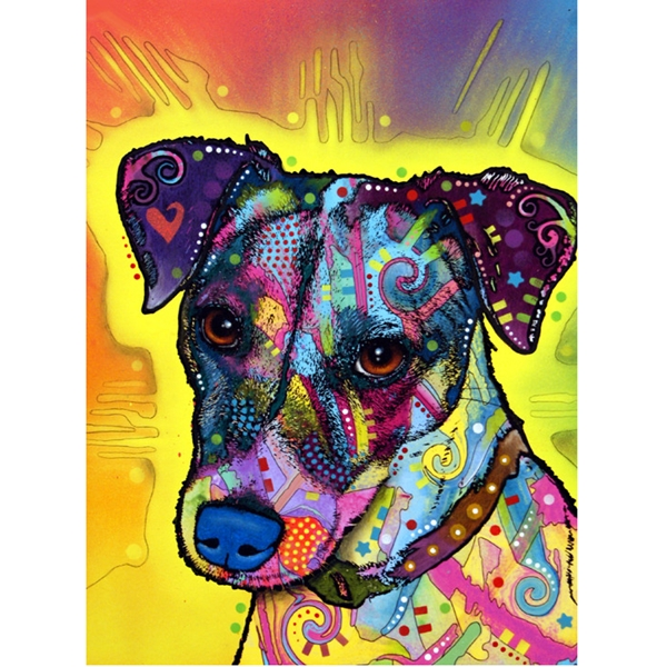 Jack Russell Terrier Print by Dean Russo - Discontinued