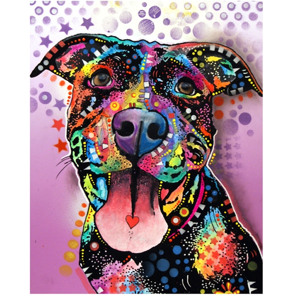 Ms. Understood Pit Bull Print