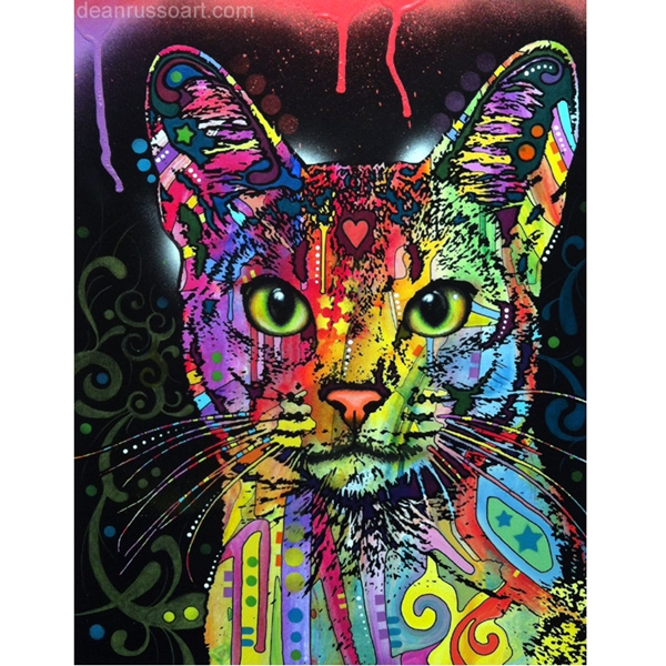 Abyssinian Cat Print by Dean Russo - Discontinued
