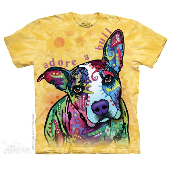 Adore-a-Bull Pit Bull Dean Russo Unisex T-Shirt - Discontinued