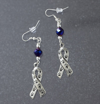 Animal Abuse Awareness Earrings