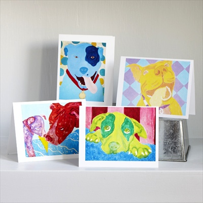 Art Note Cards (Set of 8)