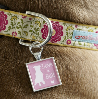 Love-a-Bull Dog Tag