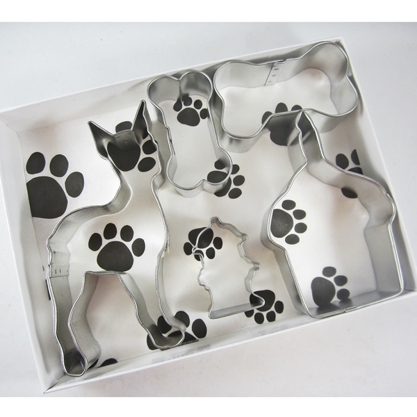 Boxer Happy Barkday Cookie Cutter Set + a Letter!