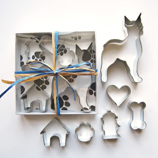 Boxer Six Piece Cookie Cutter Set + a Letter!
