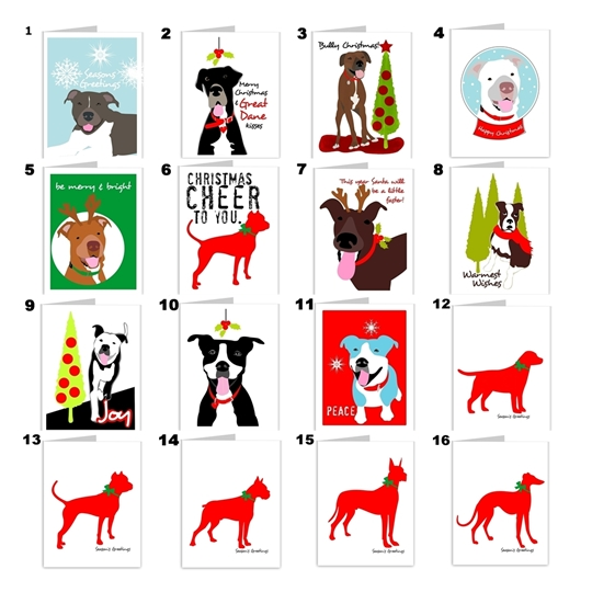 Mix and Match Set of 10 Christmas Cheer Cards