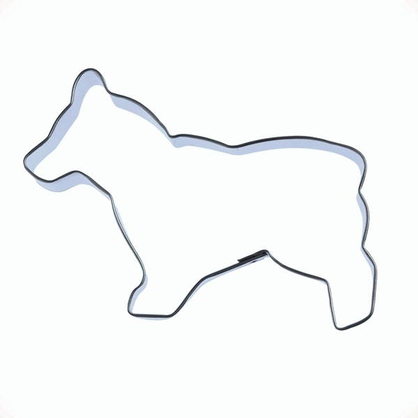 Corgi 2 Cookie Cutter