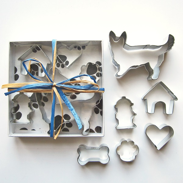 Corgi Six Piece Cookie Cutter Set + a Letter!