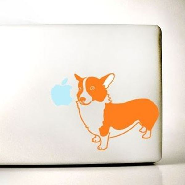 Corgi Large Decal