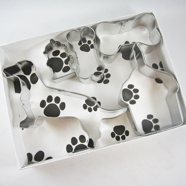 Dachshund Happy Barkday Cookie Cutter Set + a Letter!
