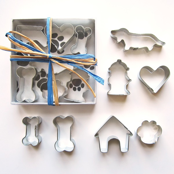 Seven Piece Mini Dachshund Cookie Cutter Set