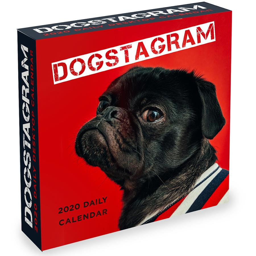 2020 Dogstagram Daily Desktop Calendar