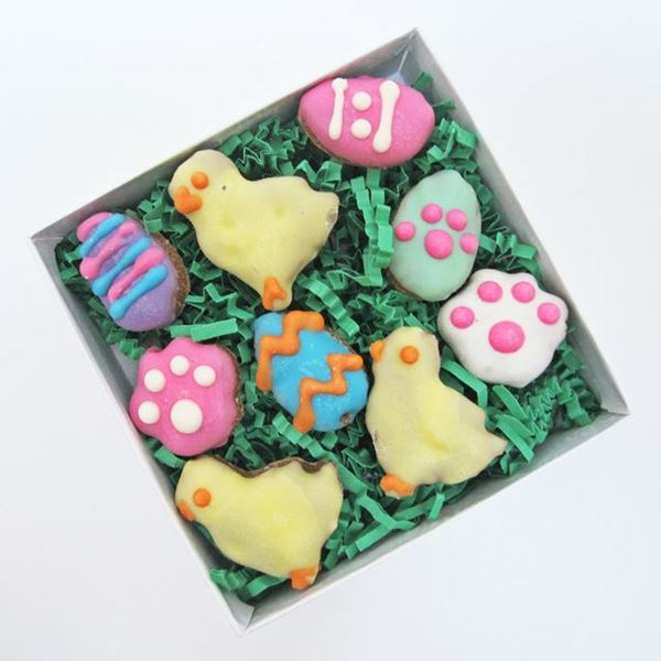Mini Egg and Chick Dog Treat Assortment
