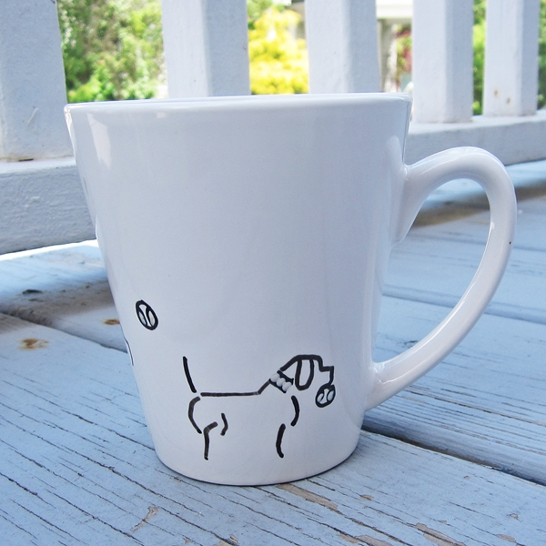 Fetch Handpainted 12oz. Mug