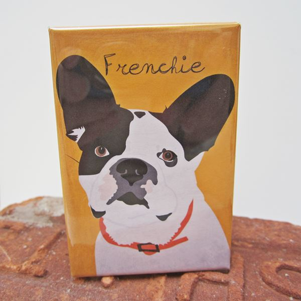 French Bulldog Art Magnet