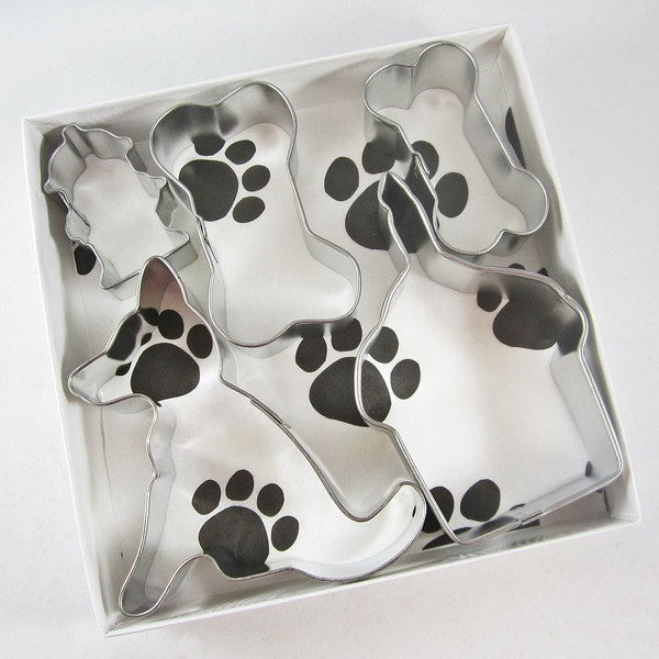 German Shepherd Happy Barkday Cookie Cutter Set + a Letter!