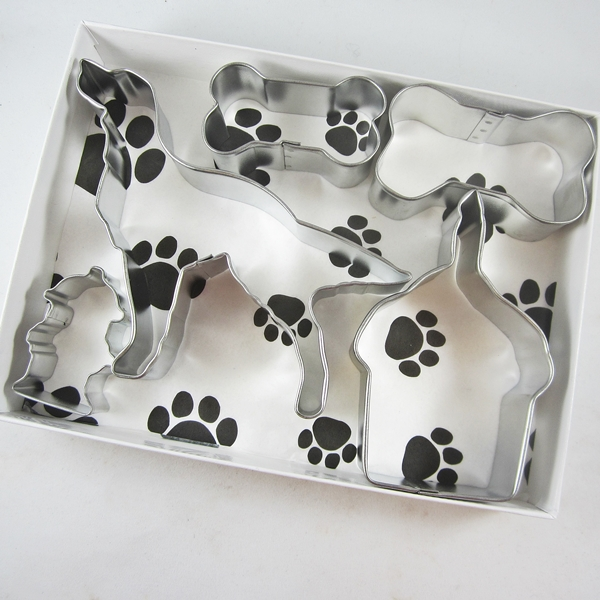 Golden Retriever Happy Barkday Cookie Cutter Set + a Letter!