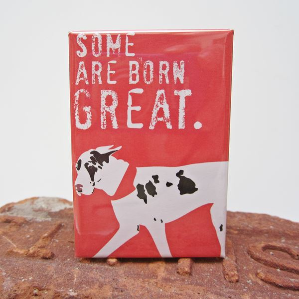 Great Dane Great Art Magnet