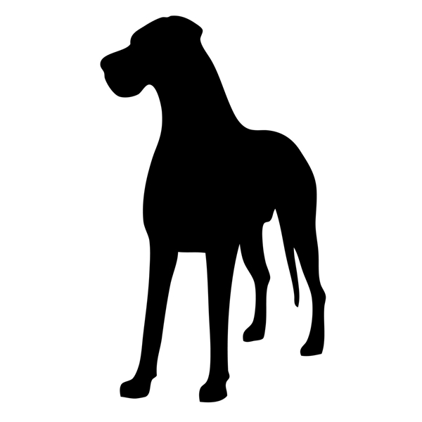 Great Dane Small Decal