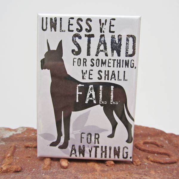 Great Dane Stand Art Magnet