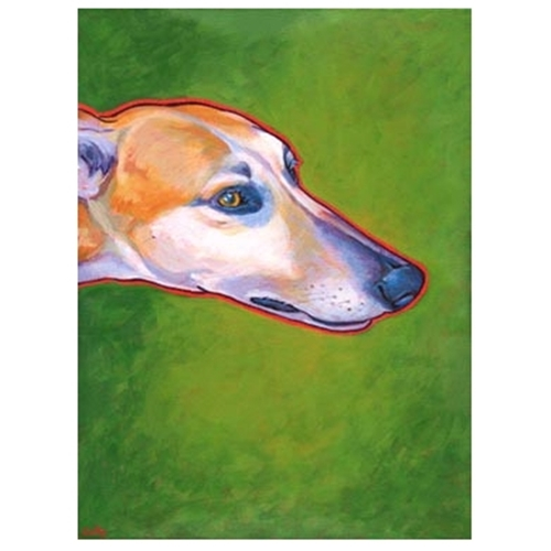 Greyhound Profile Print