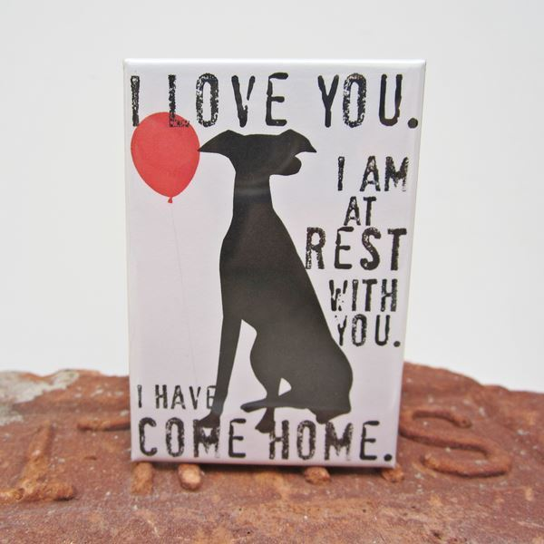 Greyhound Rest Art Magnet