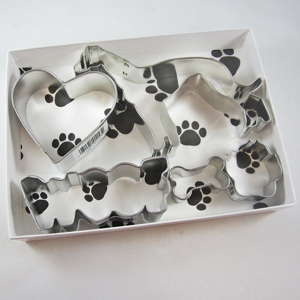 Greyhound Woof Five Piece Cookie Cutter Set + a Letter!