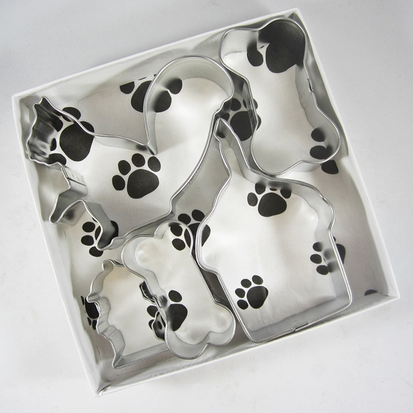 Happy Barkday Dog Cookie Cutter Set + a Letter!
