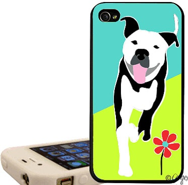 Pit Bull Joy 4/4s iPhone Case