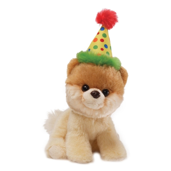 Itty Bitty Boo Happy Birthday World\'s Cutest Dog Gund Stuffed An