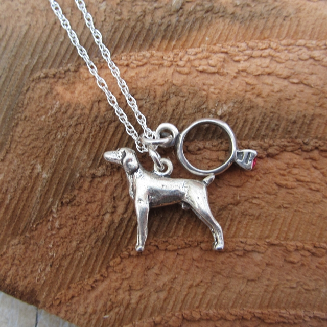 Corgi Necklace Or Ring For Sale