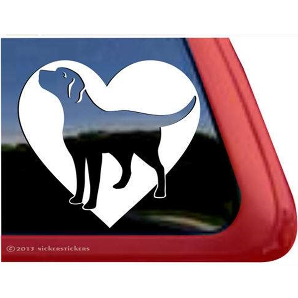 Labrador Love Large Decal