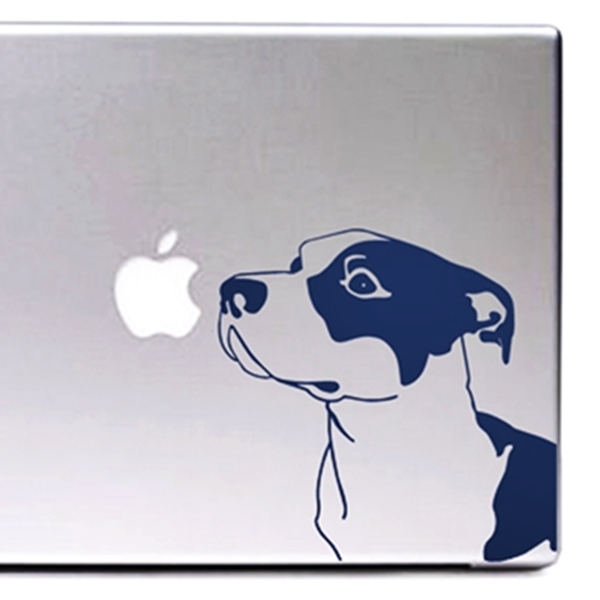 Blue Nose Pit Bull Large Decal