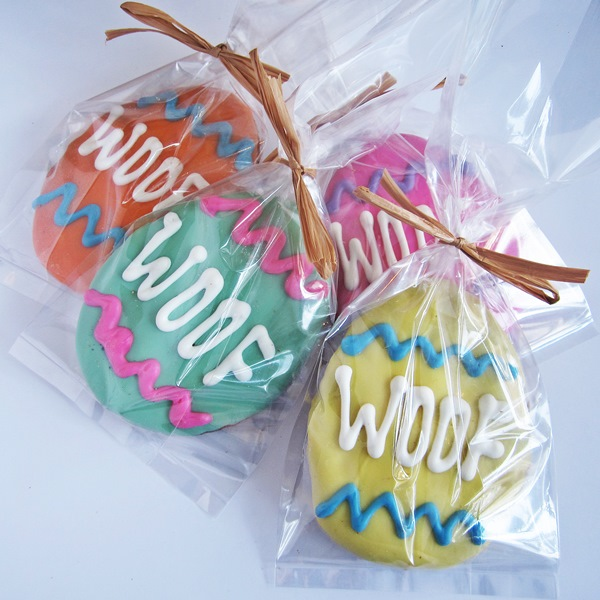 Large Woof Easter Egg Dog Treat