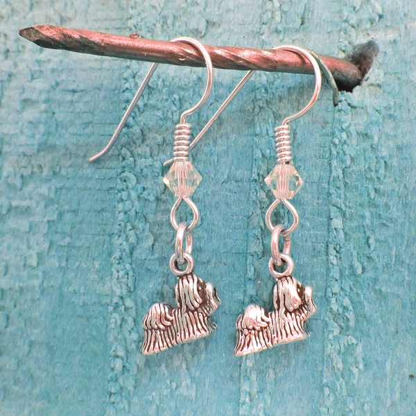 Maltese Sterling Silver Earrings
