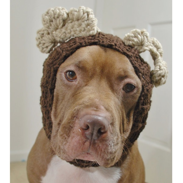 Moose Crochet Snood