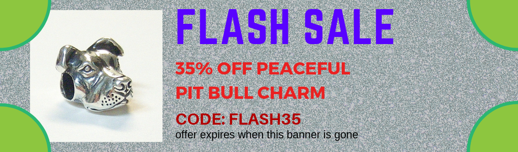 Peaceful Pit Bull Flash Sale
