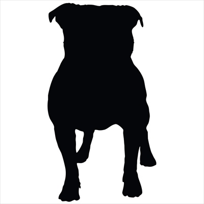 Pit Bull PDA Decal