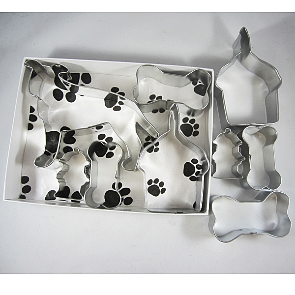 Pit Bull Happy Barkday Cookie Cutter Set + a Letter!