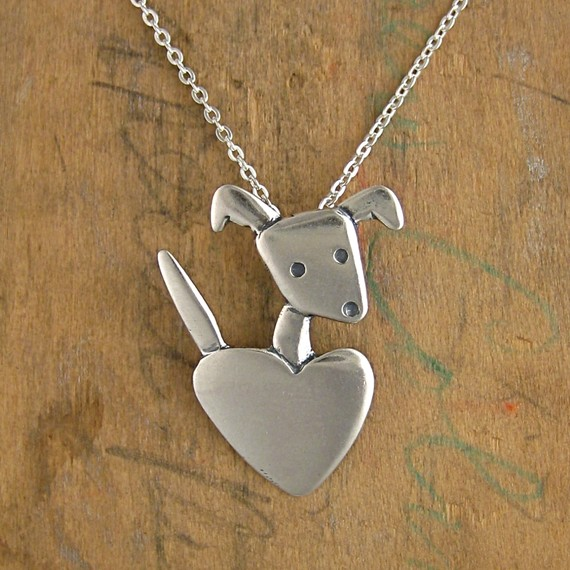 Pocket Pup Mini Sterling Silver Necklace