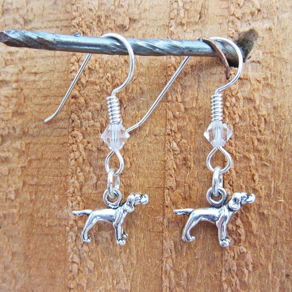 Pointer Sterling Silver Earrings