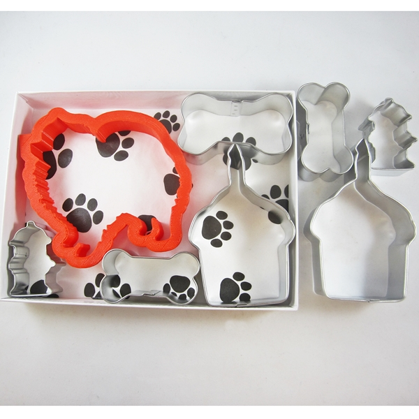 Pomeranian Happy Barkday Cookie Cutter Set + a Letter!