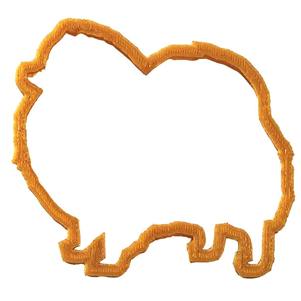 Pomeranian Dog Cookie Cutter - Plastic