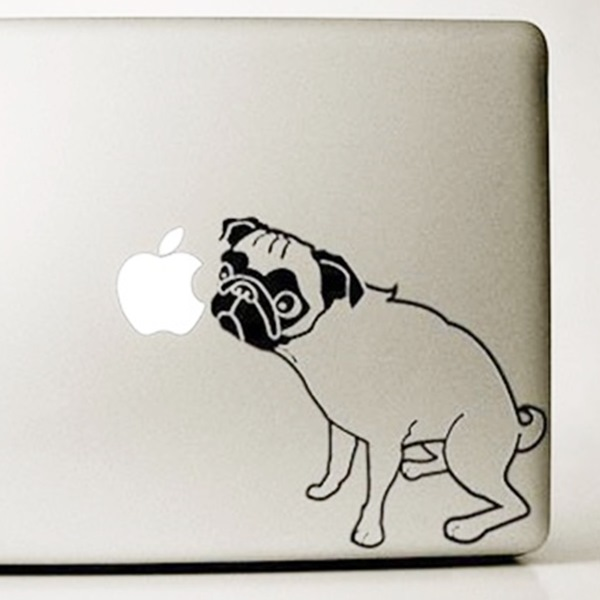 Pug Large Decal